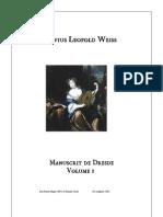 Manuscrit de Dresde, vol 1