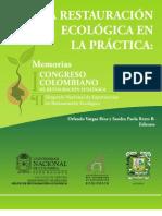 Libro Memorias Congreso Restauración Ecológica