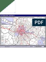 Map of Kathmandu