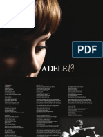 Digital Booklet l Adele - 19