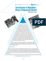 Financial Inclusion in Rajasthan - A Case Study of Rajsamand district