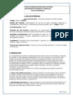 Guía N. 1 -  Sistemas Operativos.