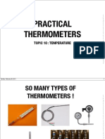 10 Practical Thermometers