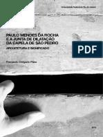 A Junta de Dlatação Paulo Mendes Da Rocha