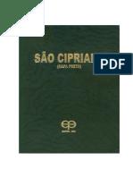 O livro gigante de São Cipriano Capa Preta - Editora Eco