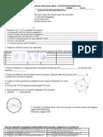 avaliaçao geometria 7ª