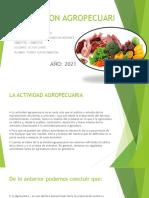 Produccion Agropecuaria