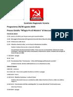Programma Boccasette 28