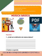 Ficha de Especialidad de Música Básica.