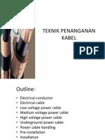 Teknik penanganan kabel