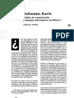 Bohmann K. Reseña