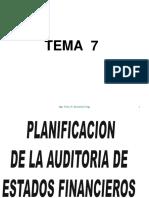 Tema7 Planificación Auditoria EEFF