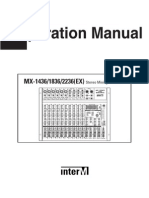 InterM MX 2236 EX Operation Manual English