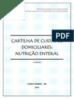 Cartilha de Cuidados Domiciliares Nutrição Enteral