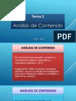 Tema 2.1 Analisis