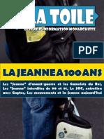 La Toile N°4 - 100 ans de Jeanne d'Arc