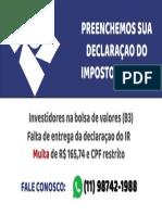 Cartão de Visita - Roberto Sena