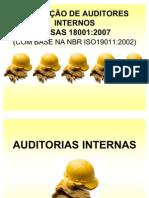 FORMAÇÃO DE AUDITORES INTERNOS OHSAS 18001_2007_Parte 2 Auditoria