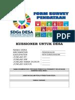 COVER KUESIONER DESA SDGs DESA