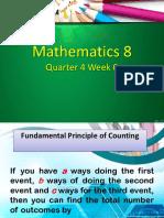 Fundamental Principle of Counting (Gr 8)