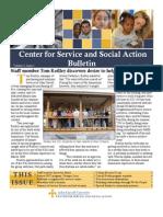 newsletter for JCU