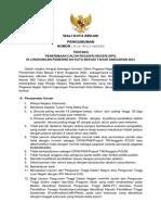 Pengumuman Penerimaan Seleksi Cpns Kota Bekasi Ta 2021