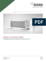 Manual del Deshumidificador LE KD2I
