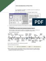 Guía de Uso de Aplicaciones en Power Point