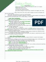 Reações Ácido-base, Redox e Solubilidade