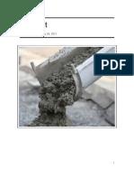 Jocelyn Cement Report
