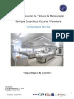 UFCD 8283 Organização Da Cozinha