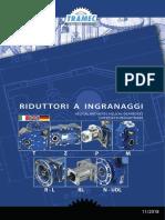 TRAMEC - Riduttori a Ingranaggi_IT-EN-DE