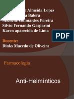 apresentação anti helminticos