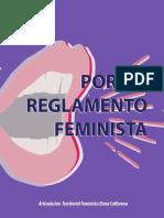 Reglamento Feminista de Articulación territorial feminista Elena Caffarena