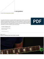Cómo leer los acordes de una guitarra (con imágenes)