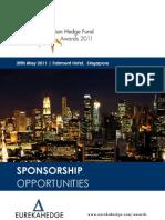Eurekahedge Asian Hedge Fund Awards 2011 Sponsorship Brochure
