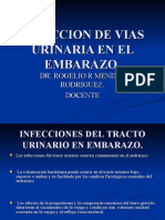 INFECCION URINARIA EN EMBARAZO