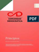 Principios Del Movimiento Comunidad Democrática