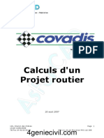 Formation Covadis Cours Projet Routier