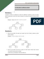TD4 -Les structures arborescentes