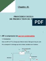 Partie II_Procedes Usuels de Production du Froid_Cours MF 2020-21____