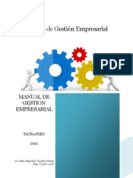 Manual de Gestion Empresarial