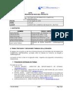 63 - 01 ACTA DE INICIO DEL PROYECTO
