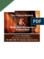 MAM Mistakes Short Report