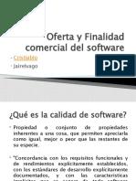 Oferta y Finalidad Comercial Del Software