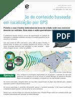 Segmentação de conteúdo baseada em localização por GPS