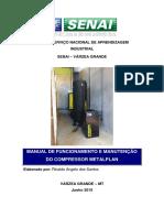 Manual Orientações para funcionamrento e manutenção do compressor