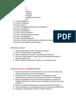 CADEM - Saúde Pública - Questionário 03