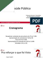 02 - CADEM - Saúde Pública