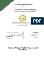 ABHISHEK AGNIHOTRI RESARCH REPORT